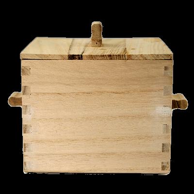 קופסת עץ למוקסה