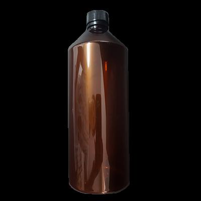בקבוק פלסטיק חום ליטר