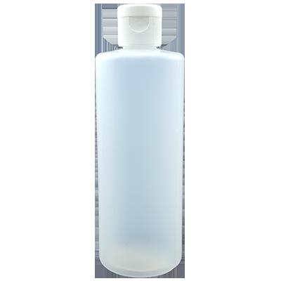 בקבוק גלילי מפלסטיק לעיסוי 200 מיל